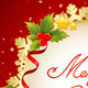 Christmas Decorative Celebration Card  - GraphicRiver Item for Sale