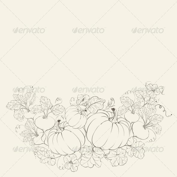 Pumpkins, Autumn Harvest. - Seasons Nature