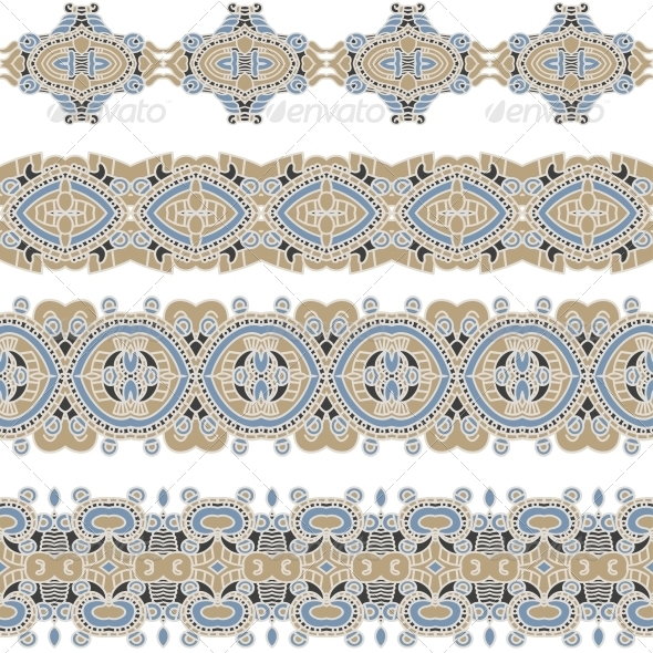 Ornamental Seamless Pattern - Patterns Decorative