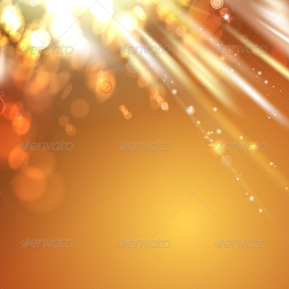 Orange Light Abstract Background. - Birthdays Seasons/Holidays