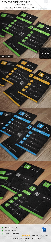 Creative Business Card v17  - Creative Business Cards