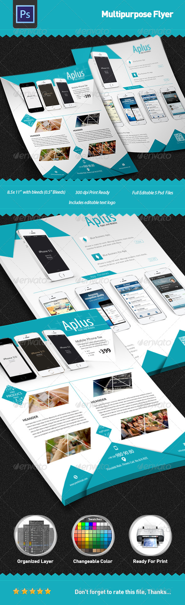 Multipurpose Flyer - Flyers Print Templates