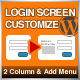 Login Layout Customize - CodeCanyon Item for Sale