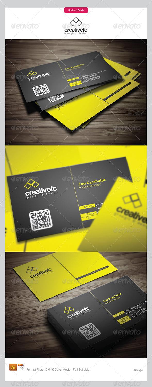 Corporate Business Cards 392 - Corporate Business Cards