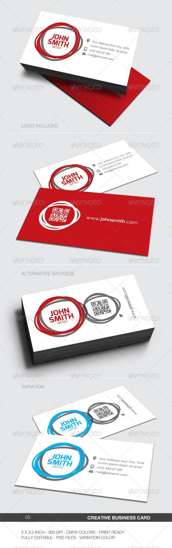 Creative Business Card - 03 - Creative Business Cards