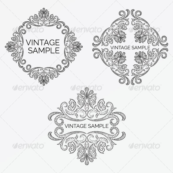 Vintage Frame 52 - Decorative Vectors