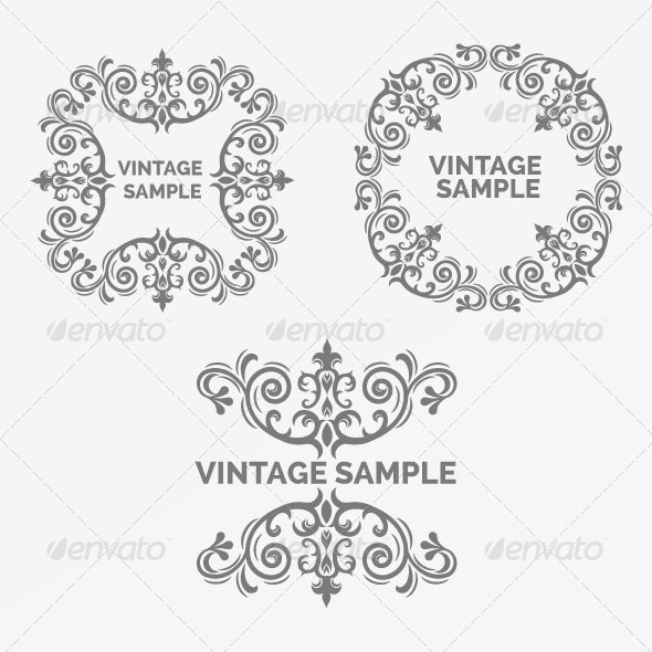 Vintage Frame 53 - Decorative Vectors