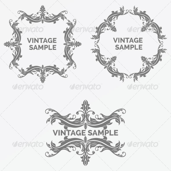 Vintage Frame 59 - Decorative Vectors