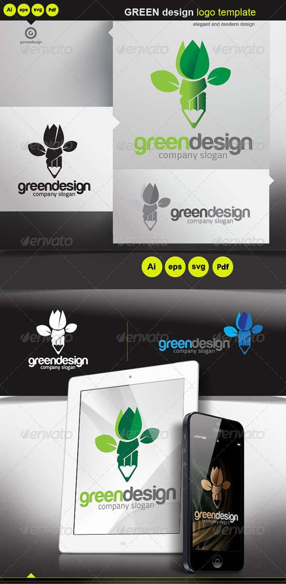 Green Design - Logo Templates