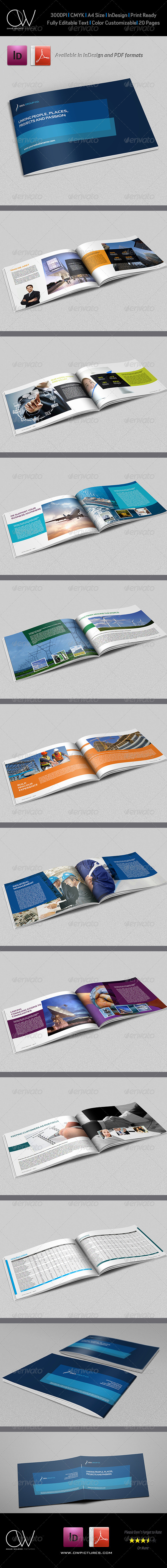 Corporate Brochure Template Vol.12 - 20 Pages - Corporate Brochures