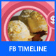 Ice Cream Shop Facebook Cover - GraphicRiver Item for Sale