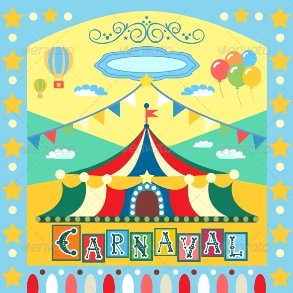 Carnival Poster - Miscellaneous Seasons/Holidays