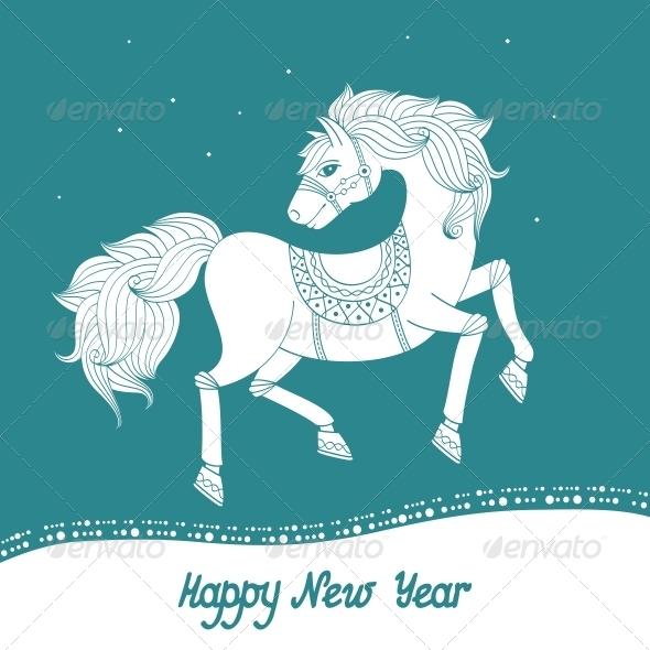 Year of Horse - New Year Seasons/Holidays