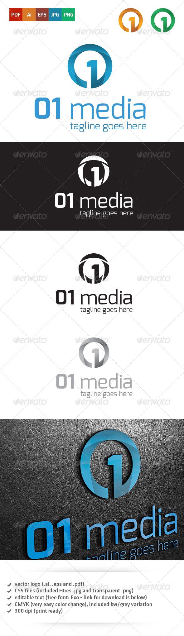 Media Logo Template - Abstract Logo Templates