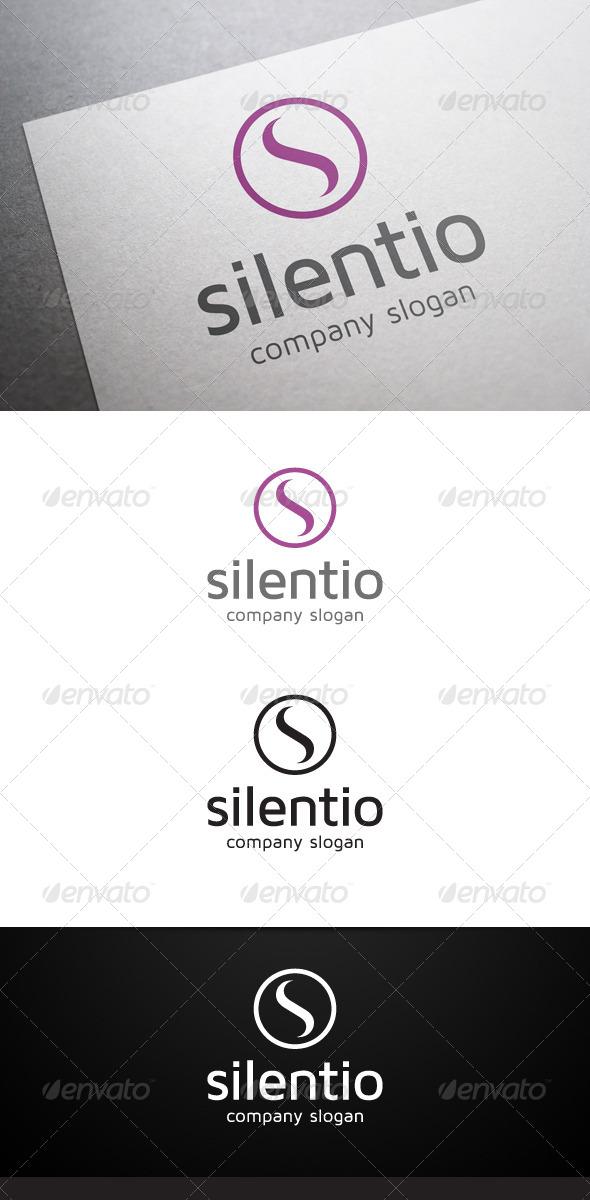 Silentio S Letter Logo - Letters Logo Templates