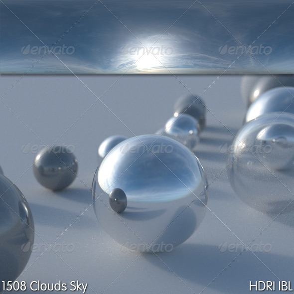 HDRI IBL 1508 Clouds Sky - 3DOcean Item for Sale