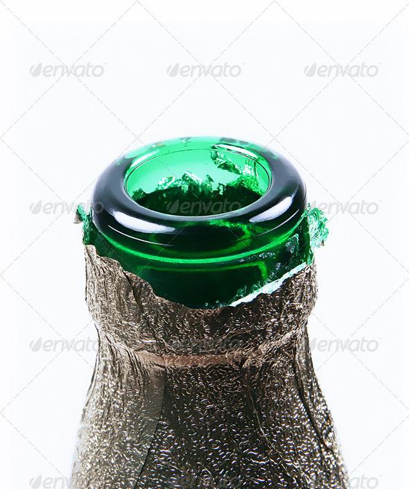 neck of bottle - Stock Photo - Images