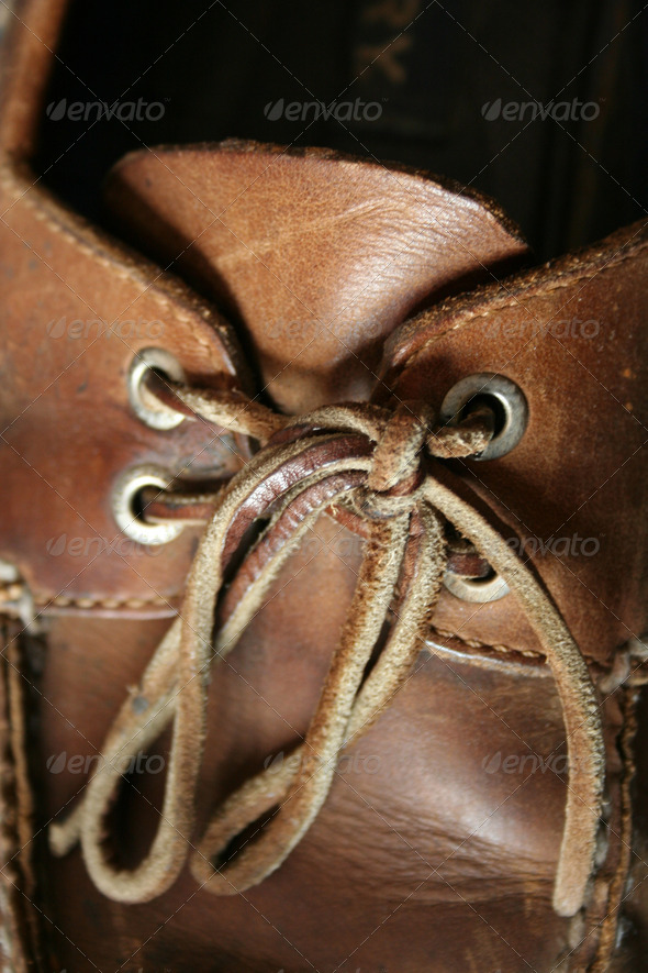 Boat Shoe laces - Stock Photo - Images