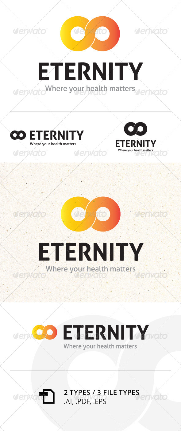 Eternity Logo Template - Abstract Logo Templates