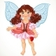 Fairy Girl with Magic Wand - GraphicRiver Item for Sale