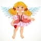 Angel Girl with Wings - GraphicRiver Item for Sale
