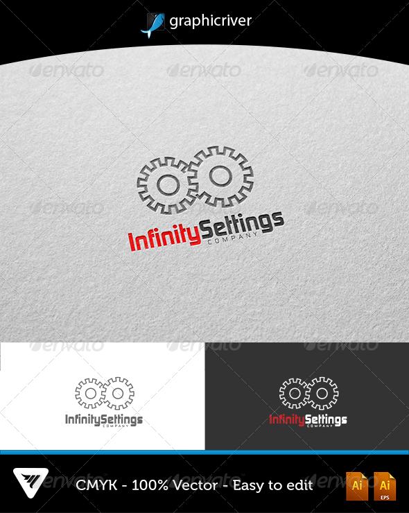Infinity Settings Logo - Logo Templates
