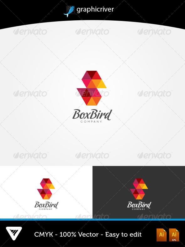 Box Bird Logo - Logo Templates