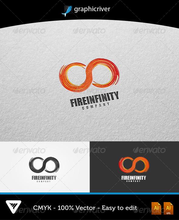 Fire Infinity Logo - Logo Templates