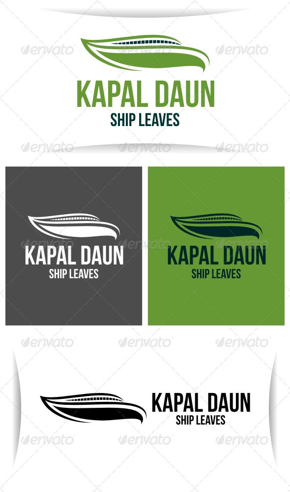 Kapal Daun - Abstract Logo Templates