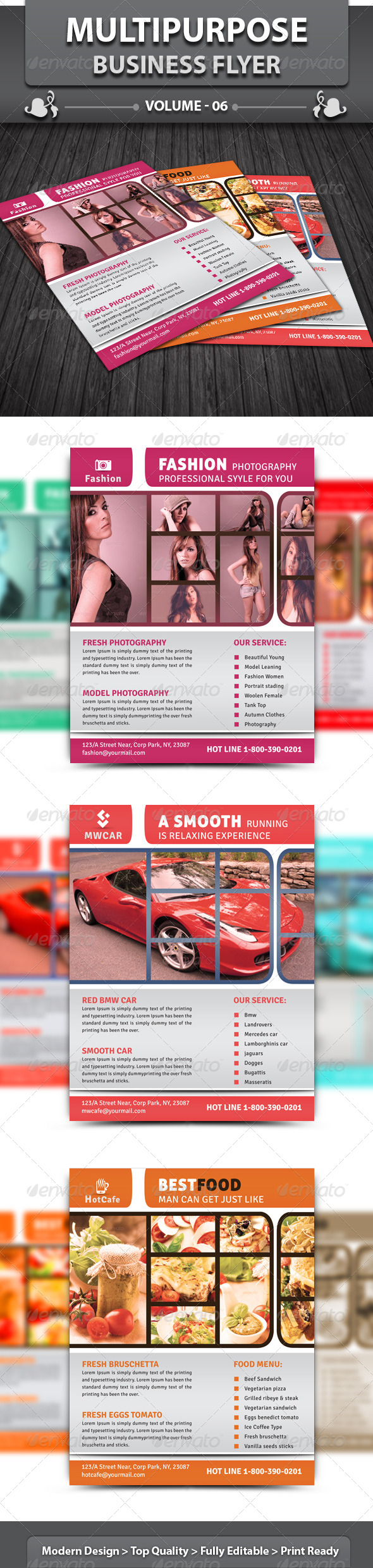 Multipurpose Business Flyer | Volume 6 - Corporate Flyers
