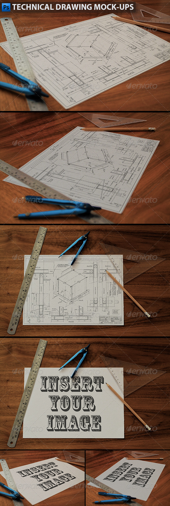 Technical Drawing | Drafting Mock-Ups - Product Mock-Ups Graphics