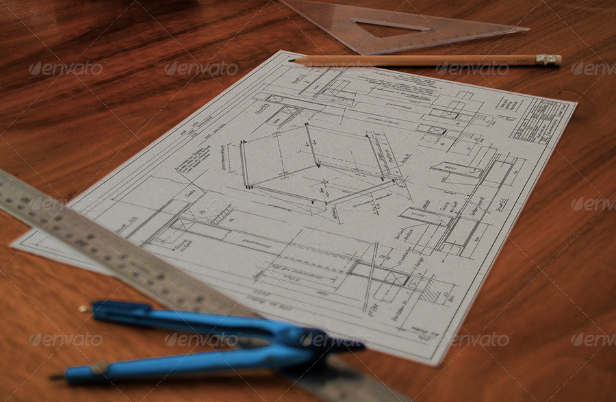 Technical drawing drafting mock ups by themedia graphicriver 01technical drawing blueprint mockupg 02technical drawing blueprint mockupg malvernweather Image collections