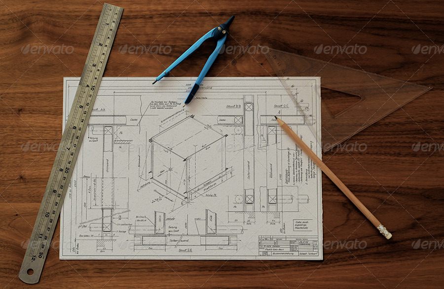 Technical drawing drafting mock ups by themedia graphicriver 01technical drawing blueprint mockupg 02technical drawing blueprint mockupg 03technical drawing blueprint mockupg malvernweather Image collections