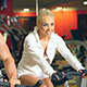 Fitness Couple Doing Bike Exercises - VideoHive Item for Sale