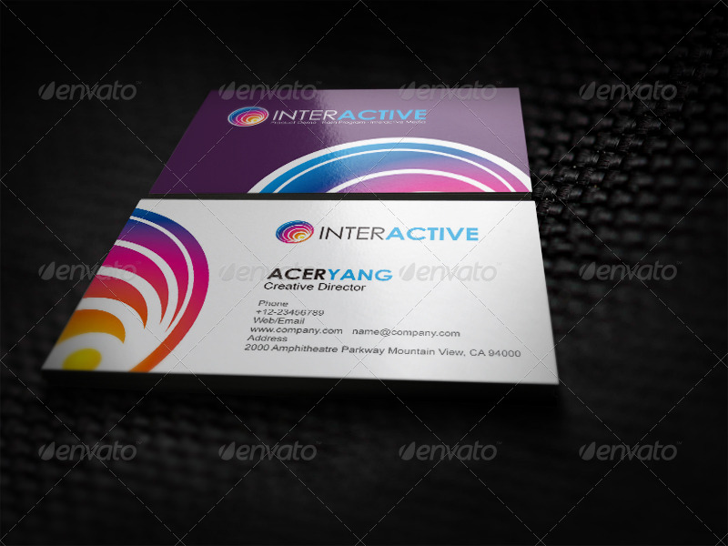 Interactive Media Business Corporate Identity