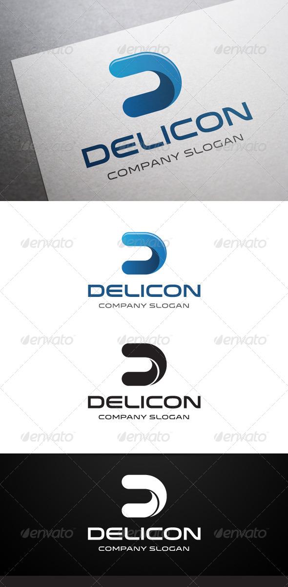 Delicon D Letter Logo - Letters Logo Templates