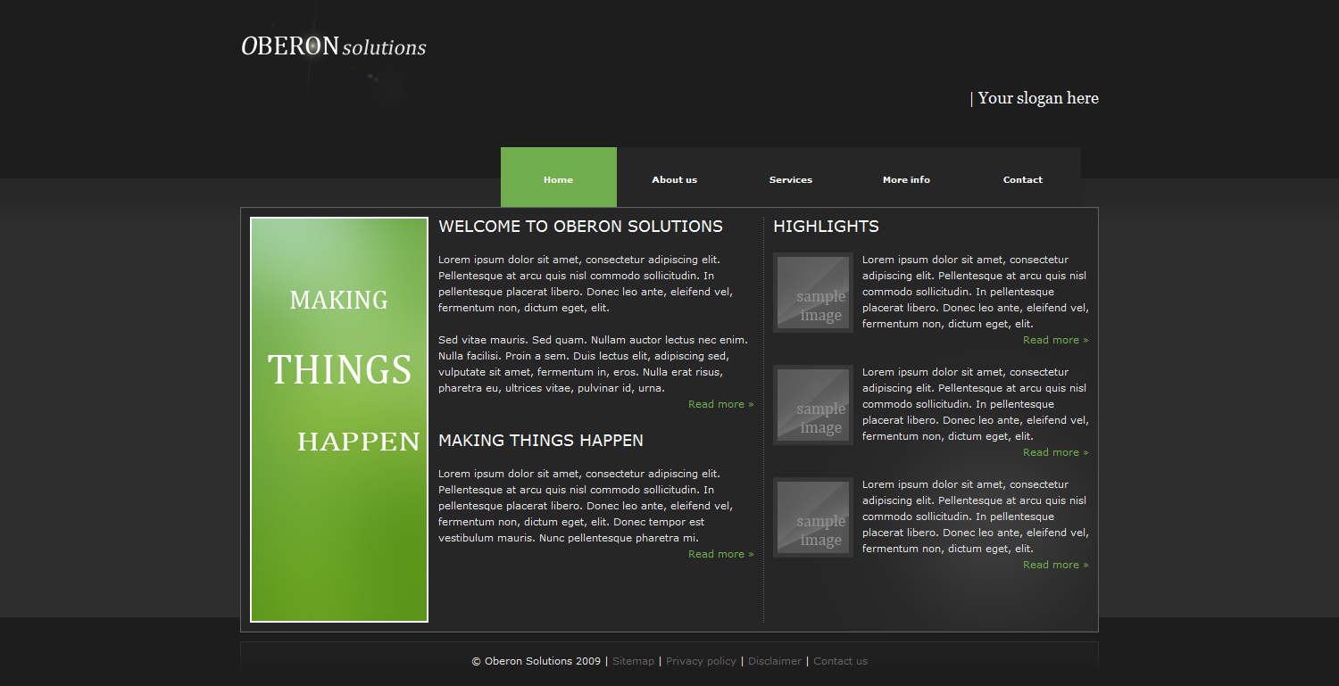 Free Download Oberon Business Package Nulled Latest Version