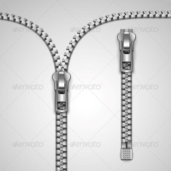 Zipper - Decorative Symbols Decorative