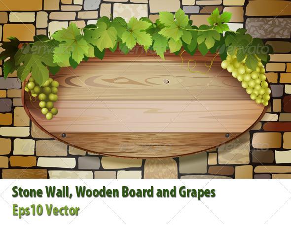 Grape Banner - Conceptual Vectors