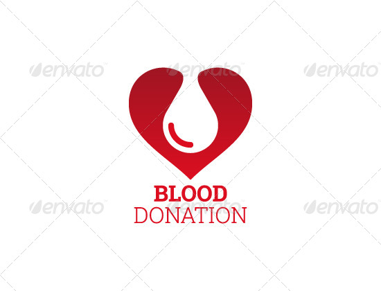 Blood Donation Logo By Maov Graphicriver
