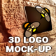 3D Logo In Wall Mock-Ups - GraphicRiver Item for Sale