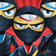 Ninja Mascot Set  - GraphicRiver Item for Sale