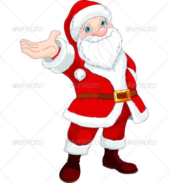 Santa Clause Presents  - Christmas Seasons/Holidays