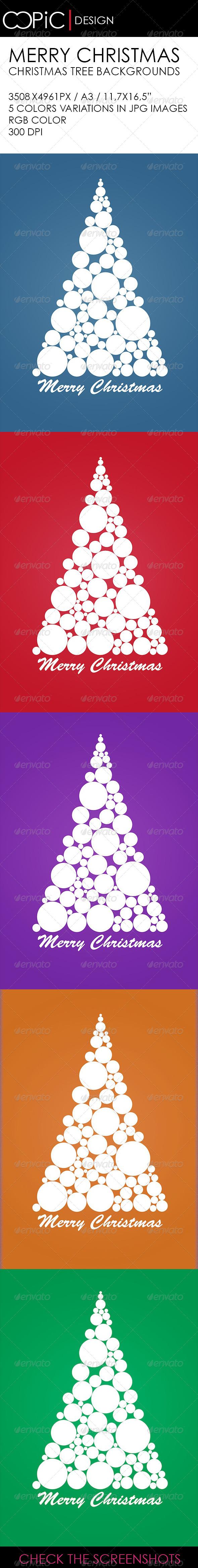 Abstract Christmas Greeting - Graphics