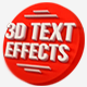 15 Various 3D Text Effects for Photoshop - Pack - GraphicRiver Item for Sale