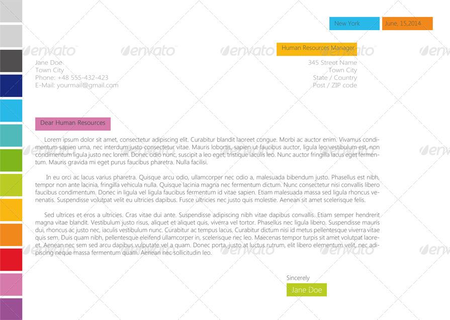 horizontal resume  cv clear  u0026 simply by asambler