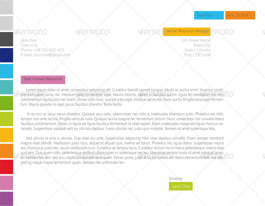 horizontal resume  cv clear  u0026 simply by asambler