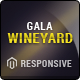 Responsive Magento Theme - Gala VineYard Nulled