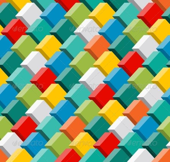 3D Seamless Pattern - Patterns Decorative