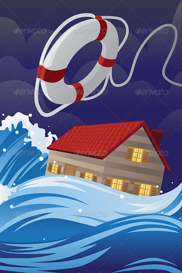 Home Insurance - Conceptual Vectors